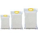 10 PCS Clear Side Gusseted Bag, 3-Side Seal Pouches