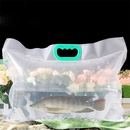 (Price/6 PCS) Collapsible Fish Shipping Bags, Water Container Water Carrier, 15 mil