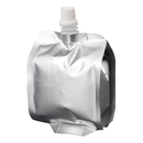(Price/50 PCS) Foil Spout Side Gusseted Bag, Good for Juice, Jam, Milk Packaging, 6.5 Fluid Ounces, 5.5mil, 8mm Spout, FDA Compliant, BPA Free