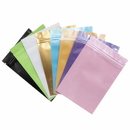 Custom Foil Flat Pouch with Zip Closure, FDA Compliant, (0.25 OZ to 2 OZ)