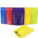 (Price/ 100 PCS) Aspire Foil Lined Stand Up Pouch Bags w/ Ziplock and Notch, 4 OZ to 2 LB, 5 mil