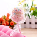 200 PCS Aspire Clear Treat Bags, Thick OPP Plastic Bags for Wedding Cookie Birthday, Cake Pops, Gift Candy Buffet Supplies