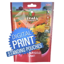 Digital Printing Custom Seeds Stand Up Pouch Bags, Digital Printing Custom Herbal Packaging Pouch, 4.7mil, Low Minimum