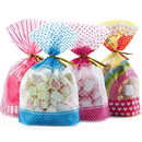 (Price/50 PCS) Aspire Side Gusseted Bread Bags with Twist Ties, 7.9