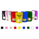 100 PCS Foil Lined Clear Oval Window Stand-Up Pouch Bags W/ Notch And Ziplock, Custom Candy Bags