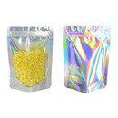100 PCS Aspire Smell Proof Bags Matte Mylar Bags Resealable Bags Stand Up Pouch Bags, 5 mil