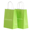 Custom Twisted Handle Paper Shopping Bags, 6
