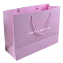 Custom Kraft Eurotote Bags with Soft Cord Handle, 13 3/4