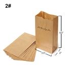Custom Kraft Paper Grocery Bags, 3.5