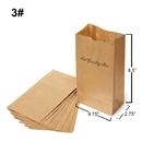 Custom Kraft Paper Grocery Bags, 4.75