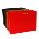 250gsm Premium Cardboard Paper Gift Bags with Glossy Lamination, 4 Colors Shopping Bags