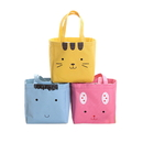 Animal Shape Insulated Lunch Bag with Tie Closure, 7 3/4