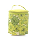 Flower Pattern Insulated Cooler Lunch Bag, 7 1/2