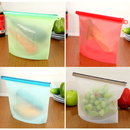 Reusable Silicone Food Storage Bags & Sandwich Bags,great heat and cold resistant,safely use in the dishwasher, freezer, microwave, Price/piece
