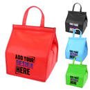 Custom Non Woven Large Insulated Tote Bag Reuseable Grocery Thermal Bag