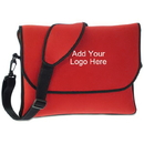 Customized Neoprene Messenger-style Laptop Case, 11