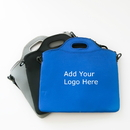 Custom Neoprene Laptop Briefcase with Retractable Shoulder Straps, 12 1/2
