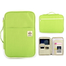 Zippered 13 Inch Macbook Bag with Handle and Pockets, A4 Size Multifunction Bag (6 Colors)