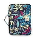 Colorful Leaves Pattern Zippered 13 Inch Macbook Bag/A4 File Bag with Handle and 10 Pockets