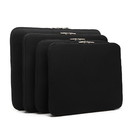 10-15 Inch Universal Laptop Sleeve with Double Zipper, Black