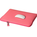 Canvas 13-13.3 Inch Laptop Sleeve Bag Cover with Cotton Lining, with Small Case for MacBook Charger