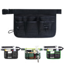 Blank 7-Pocket Gardening Tools Belt Bags Garden Waist Bag Hanging Pouch