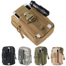 Blank Multi-Purpose Nylon Tool Holder EDC Pouch Camo Bag
