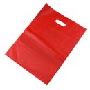 Blank 2.5 Mil Plastic Die Cut Handle Bags, 12