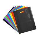 Muka 100 Pack 2.5 Mil Gloss Finished Plastic Merchandise Die Cuts