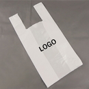Custom Plastic T-Shirt Bag, 10
