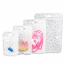 50 PCS Clear/Non-woven Plastic Reclosable Bag, 40 sizes are available