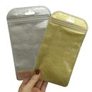 50 PCS Clear/Non-woven Zippered Bag, 4 1/4