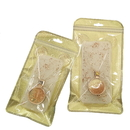 50 PCS Clear/Non-woven Reclosable Bag, 4 3/4