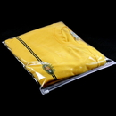 50 PCS Clear Slider Zip Re-closable Bags, 7 3/4