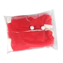 50 PCS Clear Slider Zip Re-closable Bags, 19 3/4