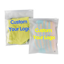 Custom Clear/ Frosted Slider Zip Re-closable Slide Seal Bags