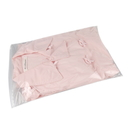 50 PCS Clear/Frosted Slider Zip Re-closable Bags, 12