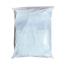 50 PCS Clear/White Slider Zip Lock Bags, 17 3/4