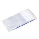 100 PCS Zip Lock Bags, Clear Small Storage Bags, 2 1/4
