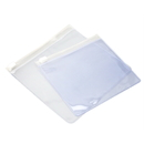 100 PCS Vinyl Slider Zip Bag, 4 1/4