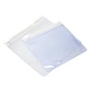 100 PCS High Quality PVC Zipper Bag, 4 1/4