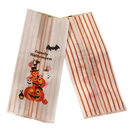 50 PCS Frosted Pumpkin Treat Bag/Cookie Bag for Halloween, 10