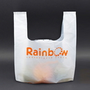 Custom 1.0 Mil T-Shirt Bags for Grocery Store, Restaurant Carry Out, 8