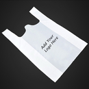 Custom 1.0 Mil Reusable Grocery Bags/T-Shirt Bags, 11