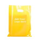 Custom 2.5 Mil Die Cut Handle Bags, 13 3/4