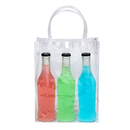 PVC Shopping Tote Bags, Gift Wrap Bags, Clear Tote Bags, PVC Transparent Plastic Pouch