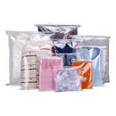 50 PCS Clear Slider Zip Re-closable Bags