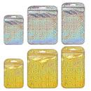 50 PCS Muka Zip Top Re-Closable Laser Poly Bag