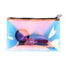 Muka Makeup bag Iridescent Cosmetic Bag Hologram Clutch Pencil Case Small Toiletries Pouch Portable Pencil bag