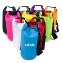 Custom 10-Liter Waterproof Dry Bag/Dry Sack for Outdoor Activities, 500D PVC Tarpaulin, 5mm Thickness